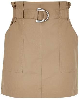 River Island Girls Paperbag Skirt - Green