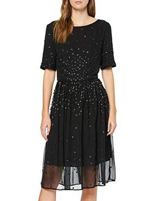 Great Plains Women's Dolly Sequins Embellished No Information|#254 Short Sleeve Party & Evening Dresses,(Manufacturer Size:S)