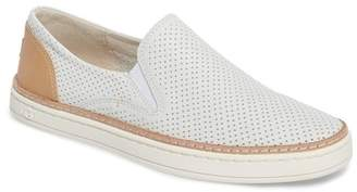 UGG Adley Perforated Leather UGGpure(TM) Lined Sneaker