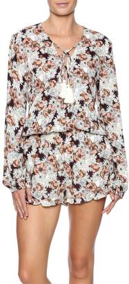 Cotton Candy That 70's Romper $48 thestylecure.com