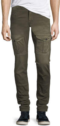 PRPS Washed-Twill Cargo Pants