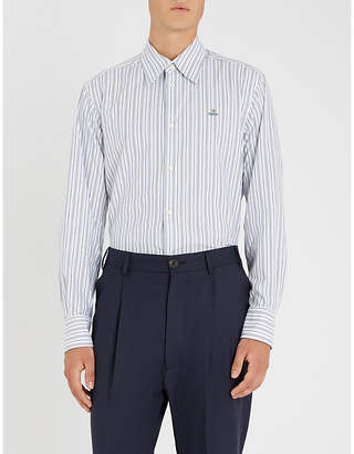 Vivienne Westwood Striped regular-fit cotton shirt