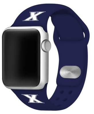 Affinity Bands Xavier Musketeers Silicone Sport Band for Apple Watch - 42mm NVY