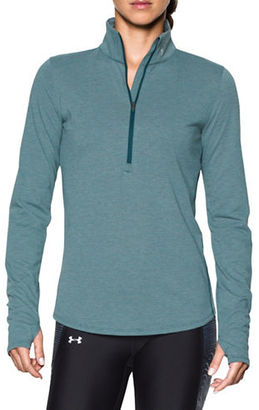Under Armour Stand Collar Long Sleeve Jacket $54.99 thestylecure.com