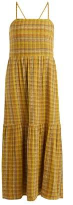 Ace&Jig Dusty striped cotton-blend dress