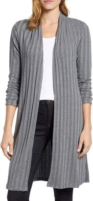 Bobeau Rib Knit Duster