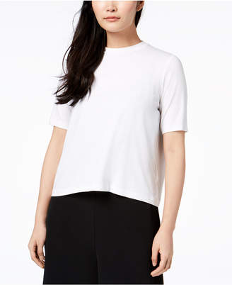 Eileen Fisher Stretch Jersey Mock-Neck Top