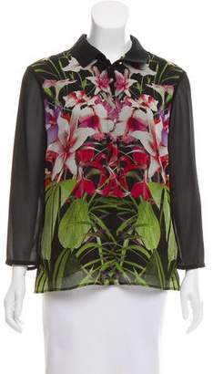 Ted Baker Floral Long Sleeve Top