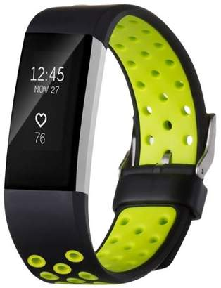 Fitbit Amerteer Replacement Accessory Sport Bands Heart Rate For Charge 2 HR Large Small