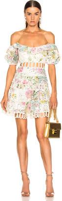 Zimmermann Heathers Off Shoulder Dress