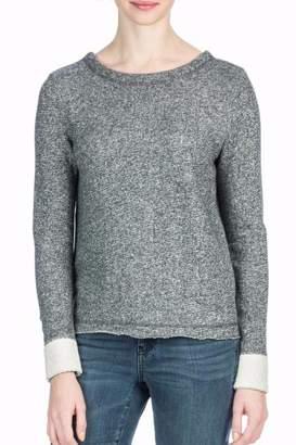 Lilla P Grey Cross Back Sweatshirt