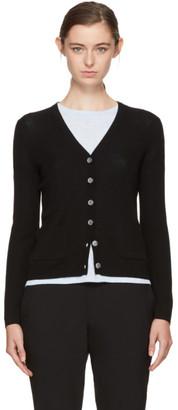 A.P.C. Black Fay Cardigan $280 thestylecure.com