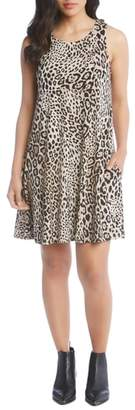 Karen Kane Chloe Leopard Print Sleeveless Dress