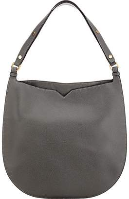 Valextra WOMEN'S WEEKEND LARGE LEATHER HOBO BAG