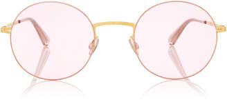Mykita Kayo Round-Frame Stainless Steel Sunglasses
