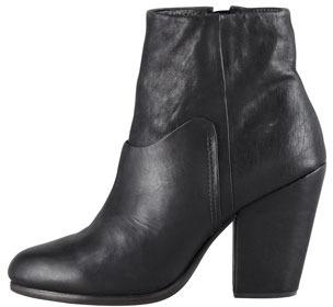 Rag and Bone Rag & Bone Kendall Leather Ankle Boot, Black