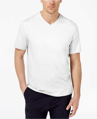 Tasso Elba Men Supima Cotton Blend V-Neck Short-Sleeve T-Shirt