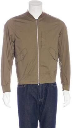 Beams Woven Bomber Jacket