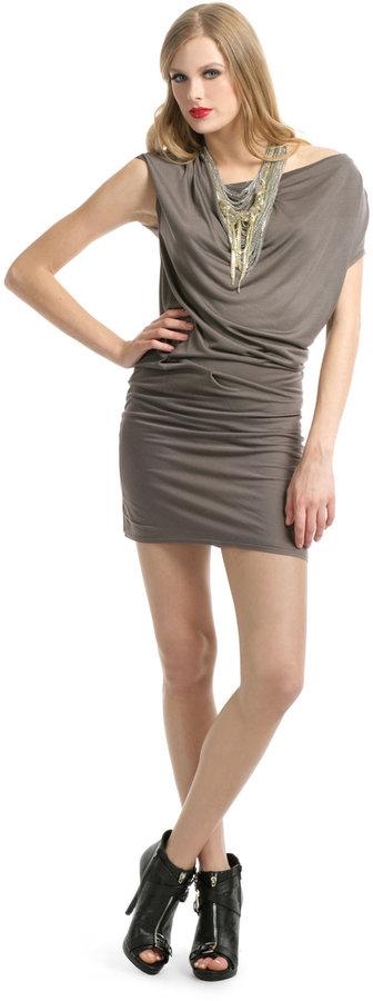 Helmut Lang Simple Slate Dress