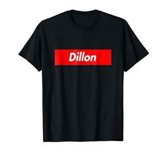 Dillon Box First Given Name Logo Funny T-Shirt