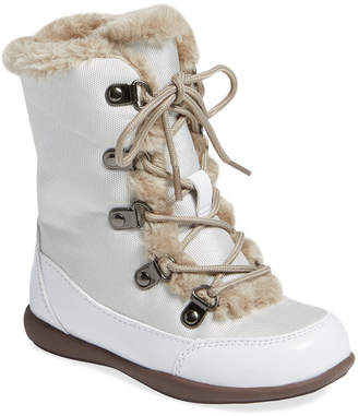 L'amour & Angel Faux Fur High-Top Boot