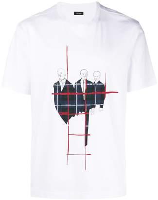 Ermenegildo Zegna printed round neck T-shirt