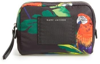 Marc JacobsMarc Jacobs B.y.o.t. Parrot Print Small Cosmetics Bag