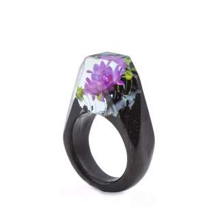 Analog Watch Co. Iced Lakelete Botanist Ring