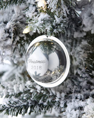 Co J T Inman 2018 Annual-Edition Sterling Silver Christmas Ornament