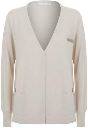 Fabiana Filippi Chain Pocket Button Down Cardigan