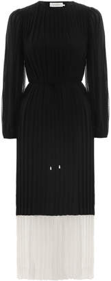 Zimmermann Splice Pleat Dress