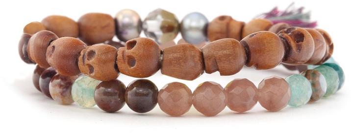 Chan Luu Mix Bead Bracelet Set
