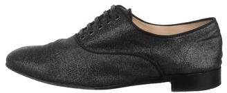 Christian Louboutin Glitter Lace-Up Oxfords