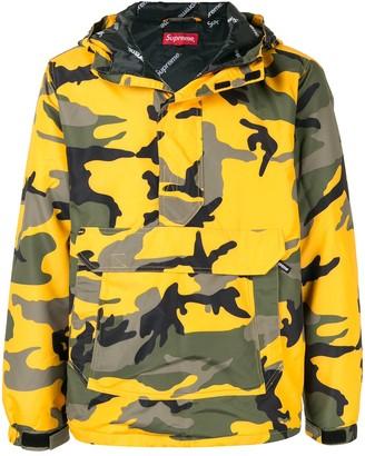 Supreme half zip pullover