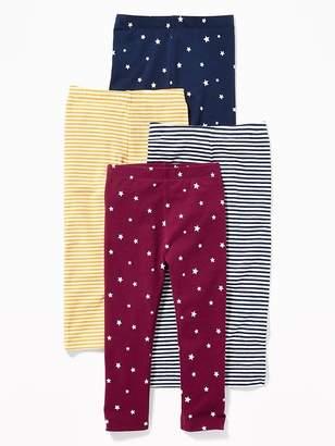e6a2a1759 Old Navy 4-Pack Leggings for Toddler Girls