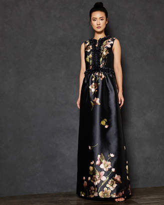 Ted Baker DORATA Arboretum print maxi dress