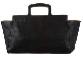 Miu Miu Grained Leather Handle Bag