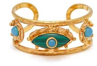 Sylvia Toledano - Third Eye Malachite And Chalcedony Bracelet - Womens - Green