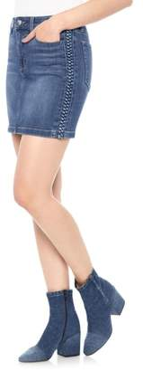 Joe's Jeans High Waist Denim Miniskirt