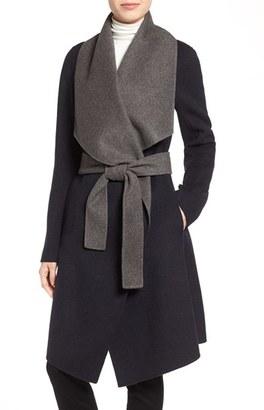 Diane von Furstenberg Reversible Double Face Wrap Coat $598 thestylecure.com