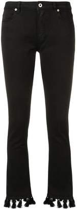 Dondup tasseled bootcut jeans