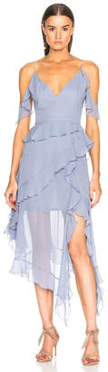 Nicholas Asymmetric Frill Dress