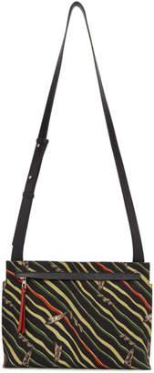 Loewe Black Paulas Ibiza Flag Logo Messenger Bag