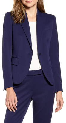 Anne Klein Howard Hawks Stretch Twill Suit Jacket