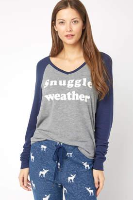 PJ Salvage Snuggle Weather Long Sleeve Tee