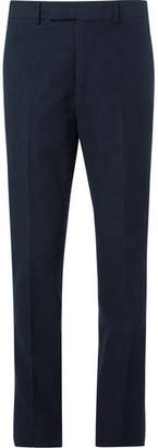 Kingsman Slim-Fit Stretch-Cotton Moleskin Trousers