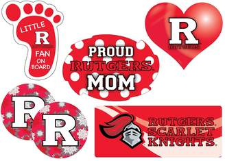 Rutgers Scarlet Knights Proud Mom 6-Piece Decal Set