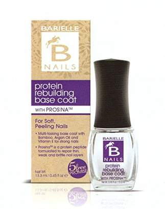 Barielle B Nails Protein Rebuilding Base Coat with Prosina .45 oz. (Pack of 6)