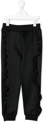 Molo frill trim trousers