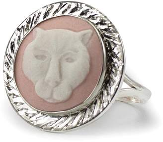 Vintouch Italy - Pink Panther Cameo Ring